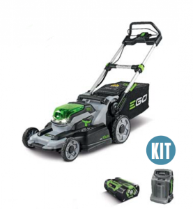 EGO 49CM MOWER, PUSH, 4.0 AMP BATTERY & RAPID CHARGER