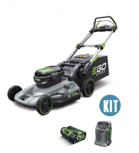 EGO 52CM MOWER SELF PROPELLED, 7.5 AMP BATTERY AND RAPID CHARGER