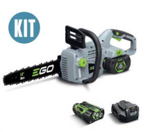 EGO 35CM CHAINSAW, INCL 2.0 AMP BATTERY & STANDARD CHARGER