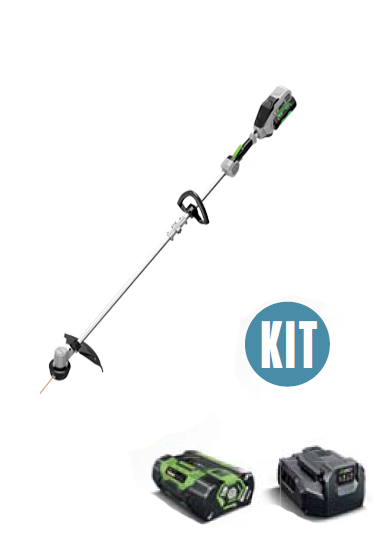 EGO STRING TRIMMER,  INCL 2.0 AMP BATTERY & STANDARD CHARGER